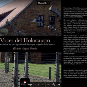LIBRO – VOCES DEL HOLOCAUSTO – VERSIÓN DIGITAL – DESCARGABLE