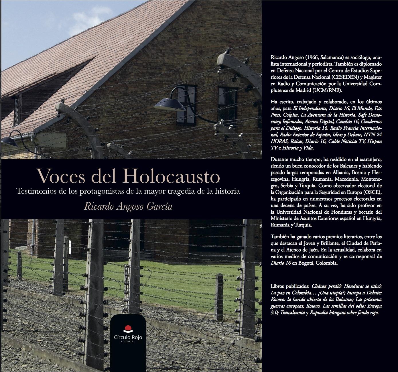 Voces del Holocausto, un libro que reivindica la memoria y el recuerdo de las víctimas de la Shoah